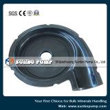 Pompe centrifuge de lisier de pièces de la pompe en caoutchouc