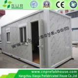 Casa pré-fabricada do recipiente do luxo de aço claro (XYJ-03)