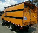 Foton 6 ruedas de Carretera de limpieza automática de Street Sweeper lavar carretilla