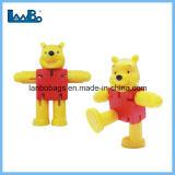 Niños Eco friendly Oso de juguete de molde de plástico mayorista