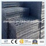 De bajo carbono alambre de hierro soldada 4X4 panel de tela metálica