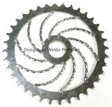 사슬 Sprocket Wheel 및 Chain 및 Motorcycle Sprocket Transmission Part