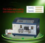 Corte del cable plano y máquina que elimina