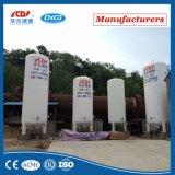 Tanque de armazenamento criogênico industrial de GNL do argônio do oxigênio do nitrogênio líquido de baixa pressão