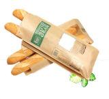 Bolsa de papel de Brown de la bolsa de papel del pan de la panadería del Baguette