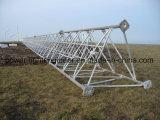 Torretta di antenna del tubo del piedino delle Telecomunicazioni tre di galvanizzazione del TUFFO caldo