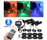 Gleichstrom 9-32V sondern Felsen-Licht des Farben-internes Laufwerk-Auto-LED aus