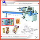 Swa-450 biscuit de type horizontal Hambourg pain machine automatique d'emballage