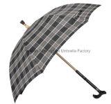 غير قابل للكسر يثنّي - غرض [ولك ستيك] مظلة مع مقرضة قابل للتعديل ([سو-0023فه])