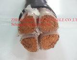 600/1000V 4 cable électrique de cuivre blindé du noyau 35sqmm