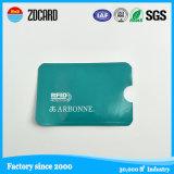 Papel seguro RFID que obstrui o suporte da luva do cartão