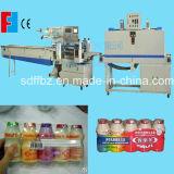 Machine automatique d'emballage en papier rétrécissable de bouteille à lait