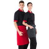 Uniforme d'hôtel, habillement fait sur commande d'hôtel pour l'uniforme de chef