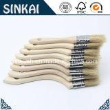 Paint jetable Brushes avec Wood Handle