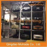 3 4 Niveaux de plancher Équipement de stationnement hydraulique Auto Car Stacker