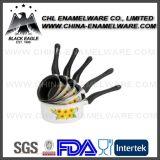 Fournisseur de Chine Pot d'émail certifié certifié SGS en acier non-adhésif
