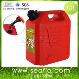 プラスチックガスタンクSeaflo 10リットル2.6ガロンのプラスチックディーゼル燃料タンク