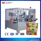 Doypack Máquina para embalaje de detergente con Stand up Pouch