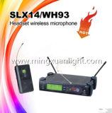 Микрофон шлемофона UHF Slx14/Wh93 профессиональный беспроволочный