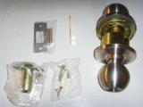 Mando cilíndrico de acero inoxidable Mango/Bloqueo el bloqueo (CHAM-SPL587)