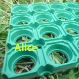 Antibeleg-Gummimatte/im Freien Gummibodenbelag-/Entwässerung-Gummi-Matte