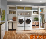 従来の白PVC木の食器棚(BY-L-14)