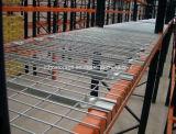 Galvanized o Powder saldato Coating Steel Storage Wire Mesh Decking per Racking