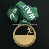 Medalhas de competição Marathon personalizadas com fita