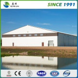 Type léger entrepôt industriel de structure métallique de construction