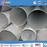 Tubulação de aço inoxidável laminada a alta temperatura do SUS 201 com ISO