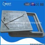 O material composto FRP reforça as tampas de câmara de visita do selo do vidro de fibra