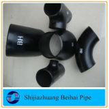 Acessórios para Tubos de Aço Carbono 90 Deg Lr Bw Cotovelo ASTM A234 Wpb Sch40