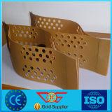 HDPE plástico perforado Textured liso Geocell