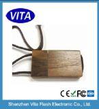 Périphérique de stockage USB en bois fait sur mesure