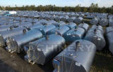 2000L sanitario 5000L Horizontal Tanque de refrigeración de leche (ACE-ZNLG-F8)