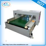Correia transportadora Vestuário Cloting Textile Metal Needle Detector