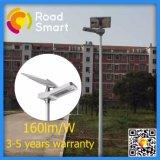 5600lm 40W todo em uma luz de rua solar ao ar livre do diodo emissor de luz