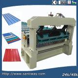 De Tegel van het Staal van de kleur walst het Vormen van Machine koud in China wordt gemaakt dat