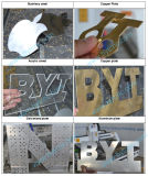 Fabrication du couteau de commande numérique par ordinateur de découpage d'alliage de bismuth d'argent facile