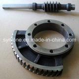 Naar maat gemaakte CNC die de Schacht van de Worm van de Transmissie machinaal bewerken