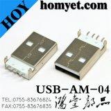 USB Type A Connecteur pour accessoires de l'ordinateur (USB-AM-04)