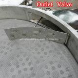 Toda a máquina redonda giratória do abanador da tela de vibração do aço inoxidável