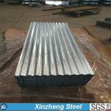 China manufactura de acero galvanizado de hoja de techos de cartón ondulado