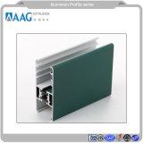 Il profilo di alluminio del blocco per grafici di profilo di colore muore il profilo della fusion d'alluminio con la finestra ed il portello di verniciatura
