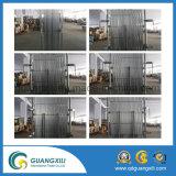 De vouwbare en Uitzetbare Poort van het Aluminium met CirkelBuis