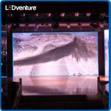 Alquiler a todo color de interior de la visualización electrónica del LED para los acontecimientos, conferencias, partidos