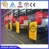 De goedkope machine van het ijzervouwen van prijs hydraulische nc, buigende machine met E21 systeem WC67K-300T/4000