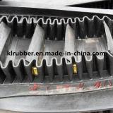 Gummistahlnetzkabel-Wannen-Höhenruder-Förderband