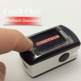 Fos3 Meditech oxímetro de pulso com 4 diferentes modos de visualização