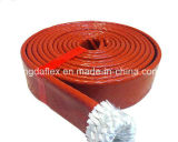 Chemise anti-calorique conçue spéciale d'incendie de température élevée de fibre de verre